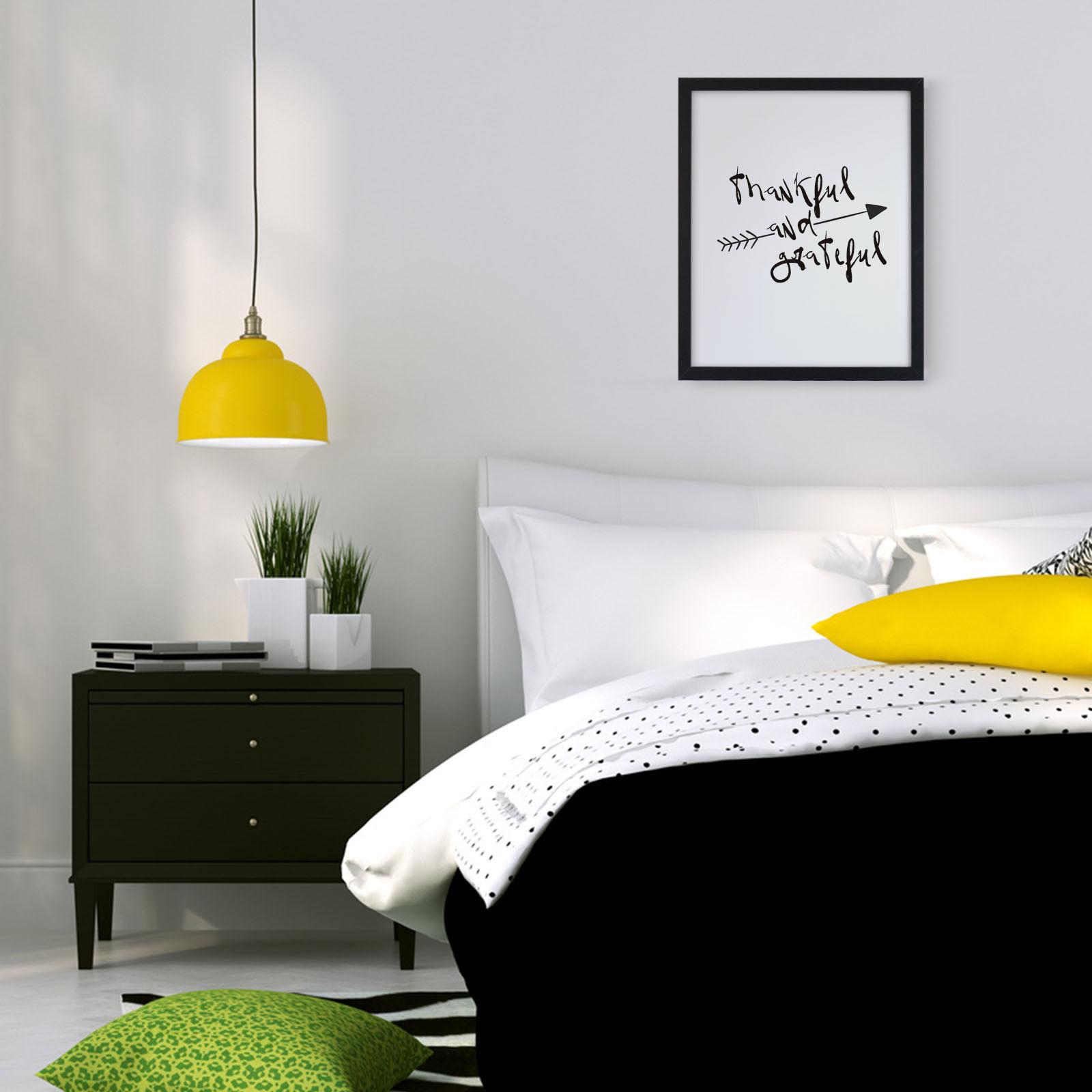 bild bilder mit spr chen rahmen dankbar wei und. Black Bedroom Furniture Sets. Home Design Ideas