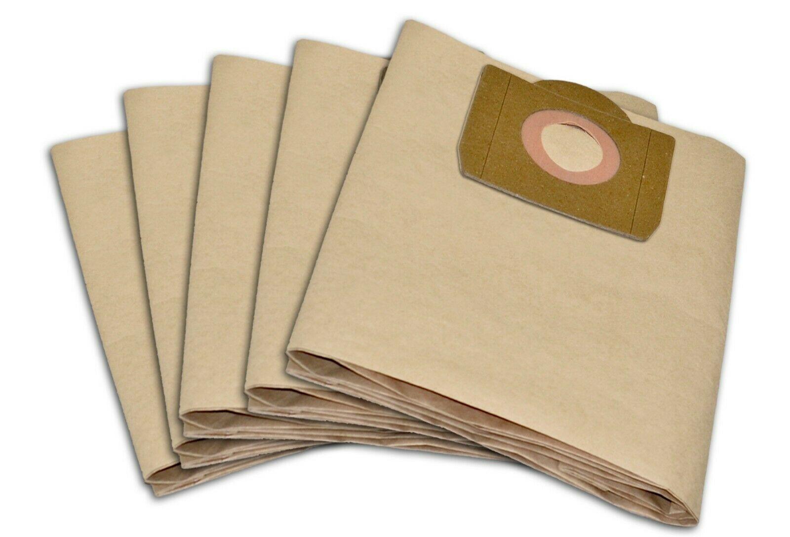 5 sacs pour aspirateur de Parkside pour PNTS 1300 a1 1250 1250//9 Nouveau Filtre Sacs