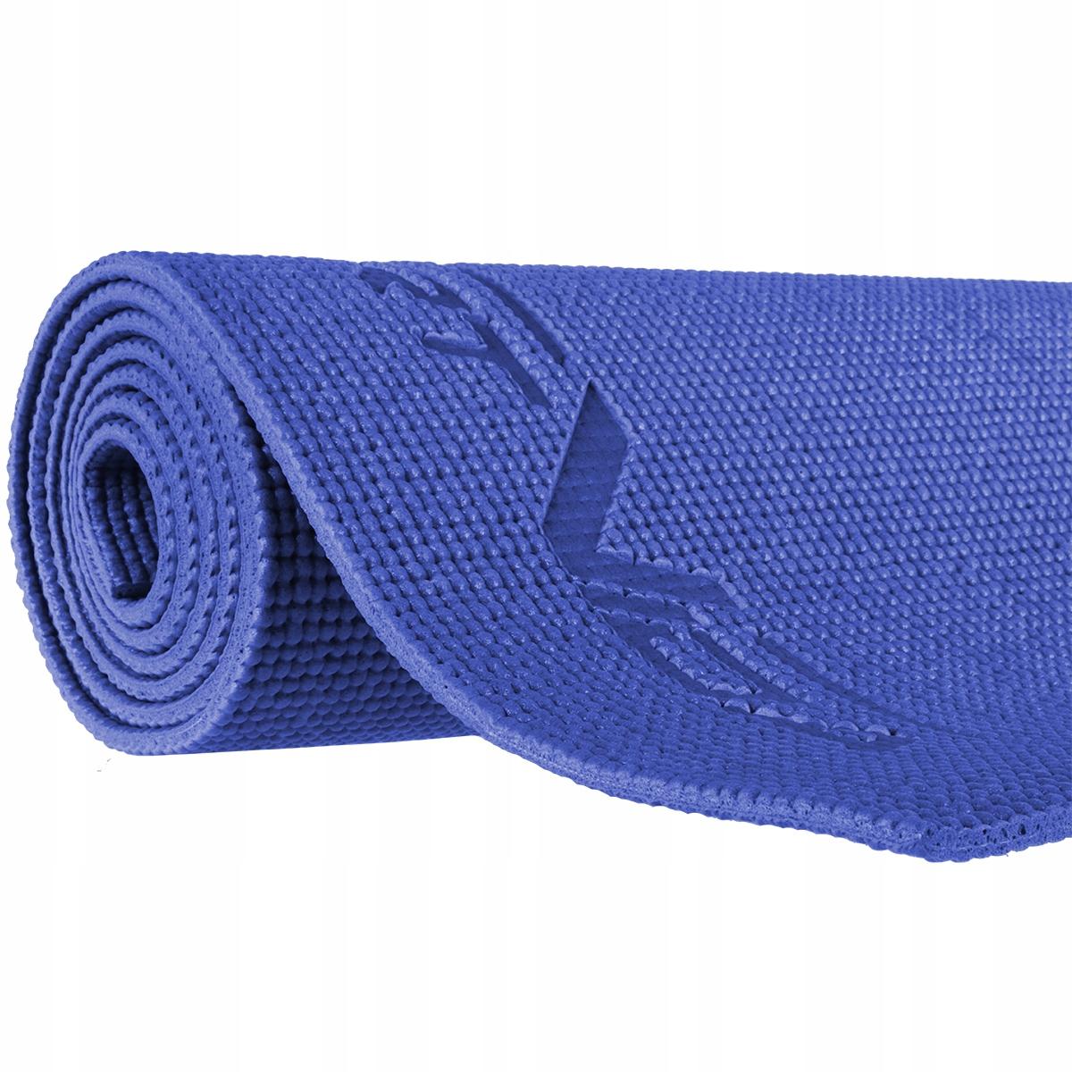Mata do ćwiczeń 6 mm niebieska
