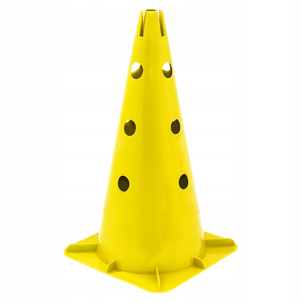 Pachołek 40 cm żółty
