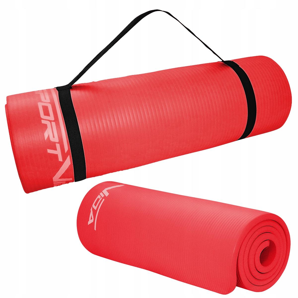 Mata NBR 1,5 cm czerwona