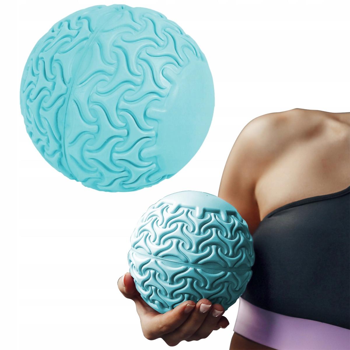 Piłka do masażu turkusowa