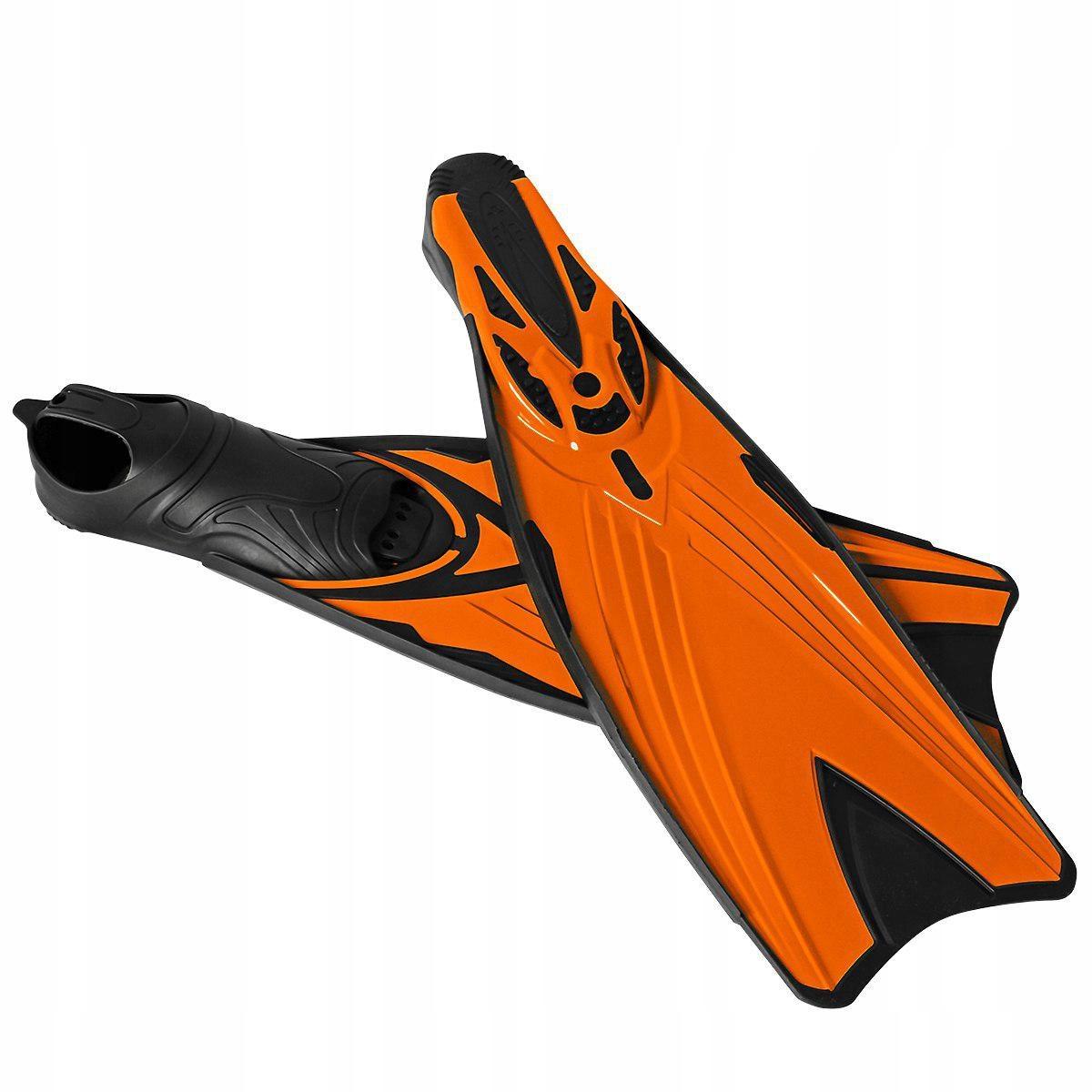 Płetwy pomarańczowe kalosz długie XXL (46-47)