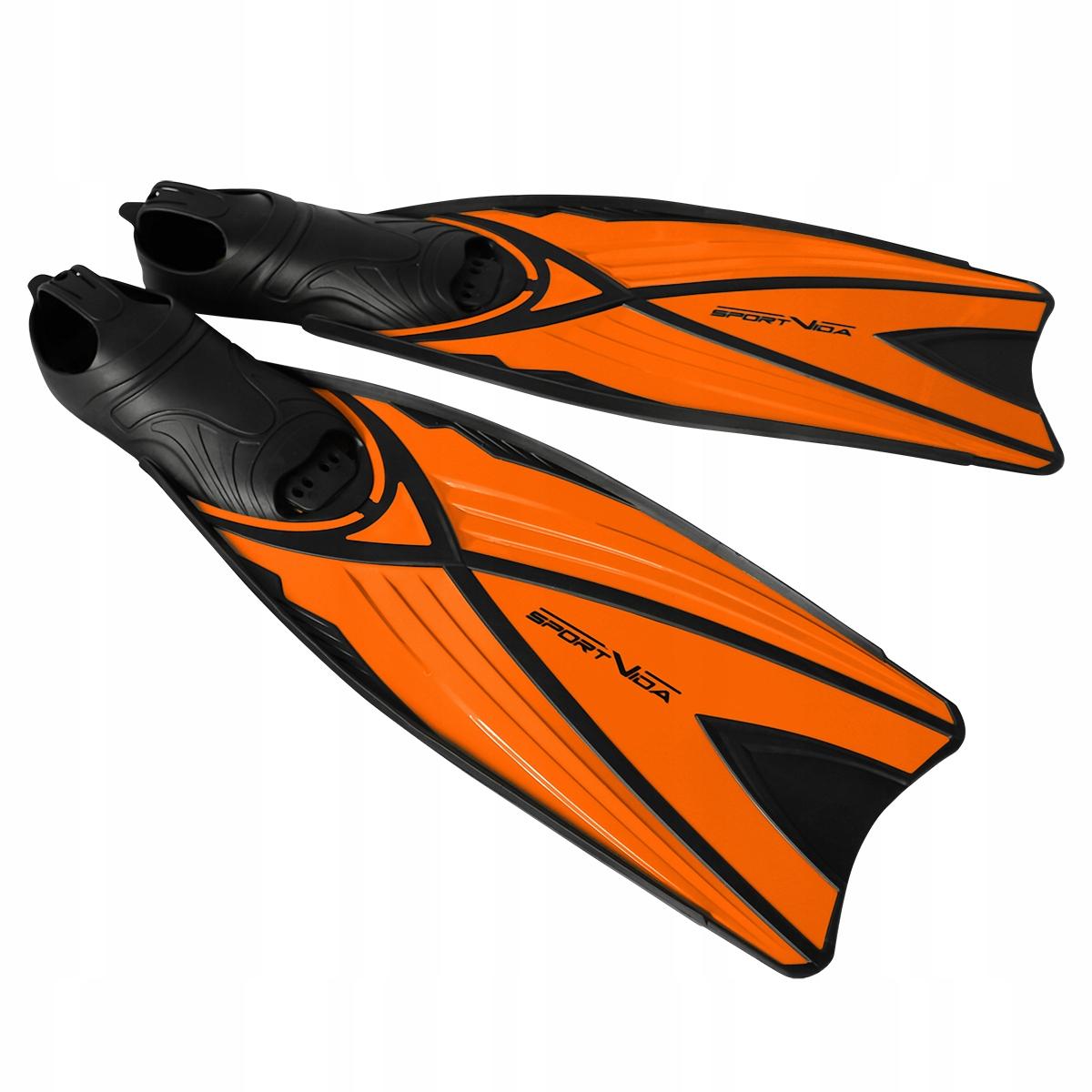 Płetwy pomarańczowe kalosz długie M (40-41)