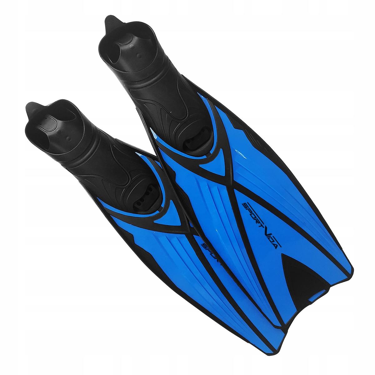 Płetwy niebieskie kalosz długie S (38-39)