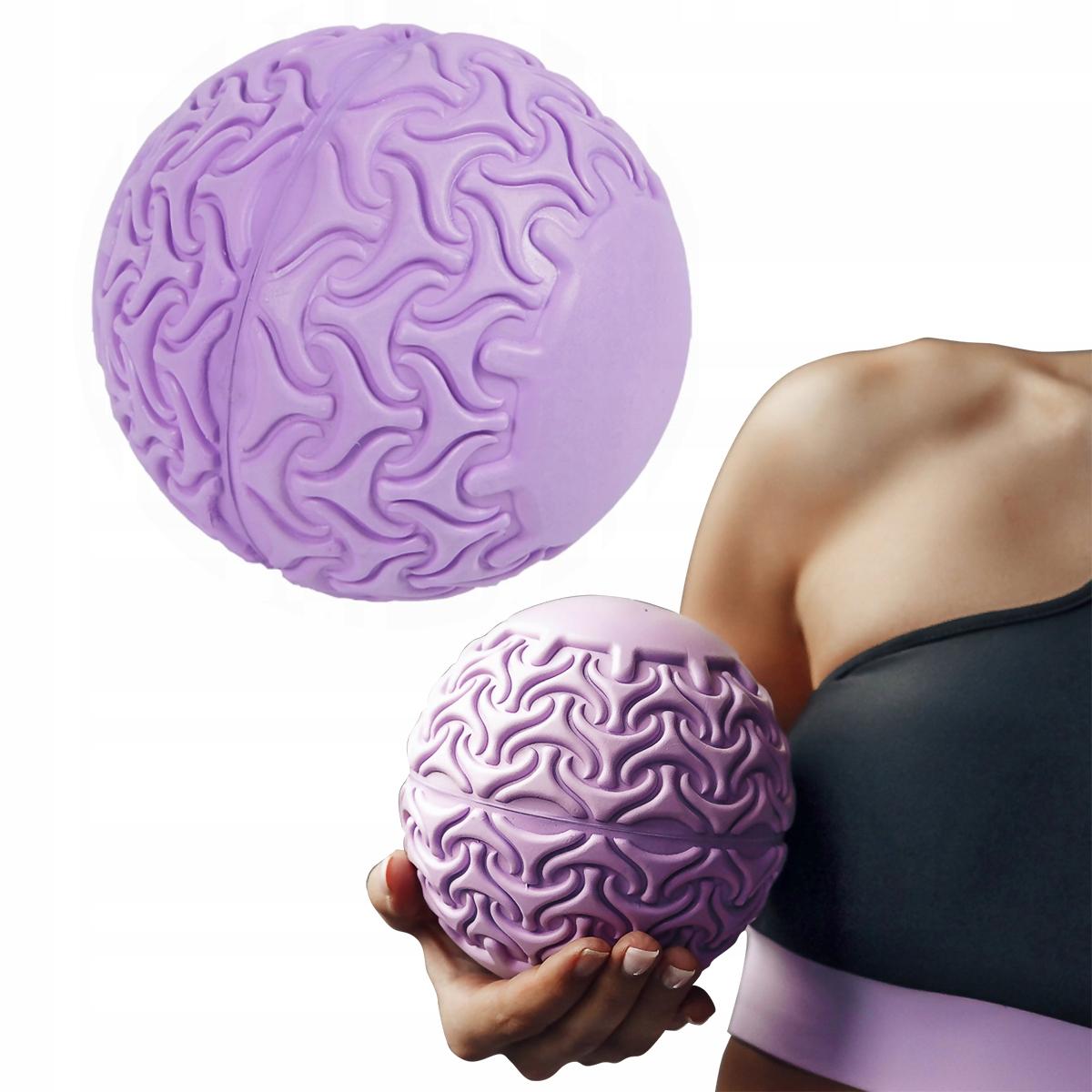 Piłka do masażu różowa