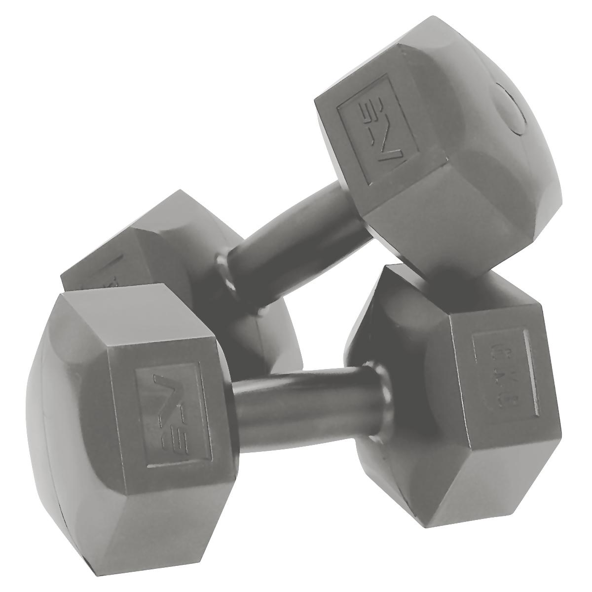 Zestaw hantli 2×6 kg