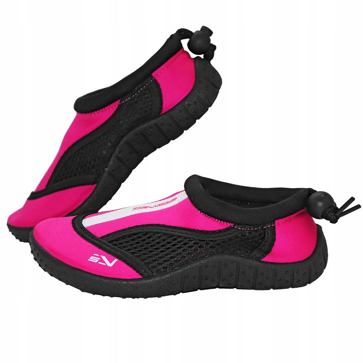 Buty do wody fuksja- rozmiar 35