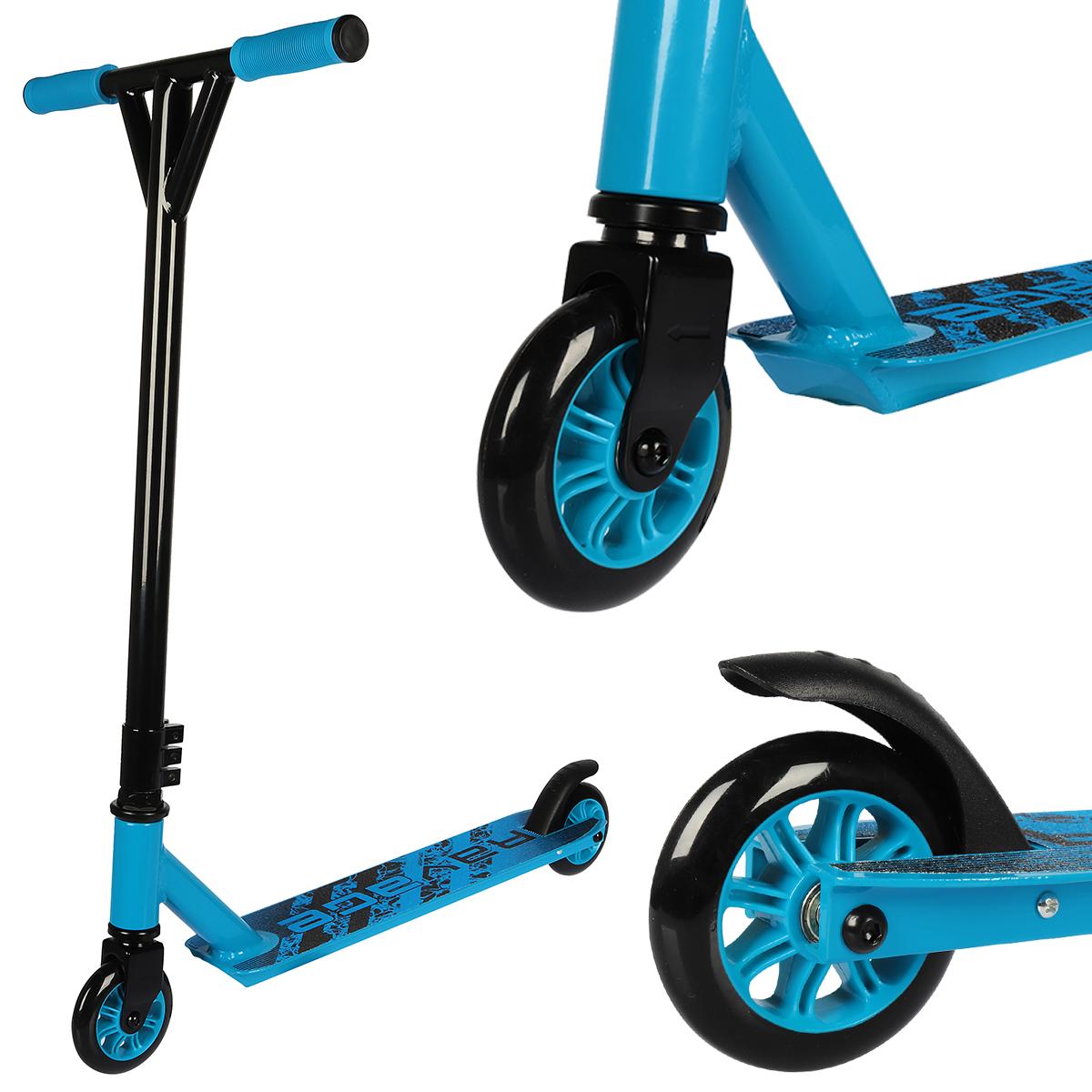 Hulajnoga typu stunt ABEC-7  niebieska- ravage