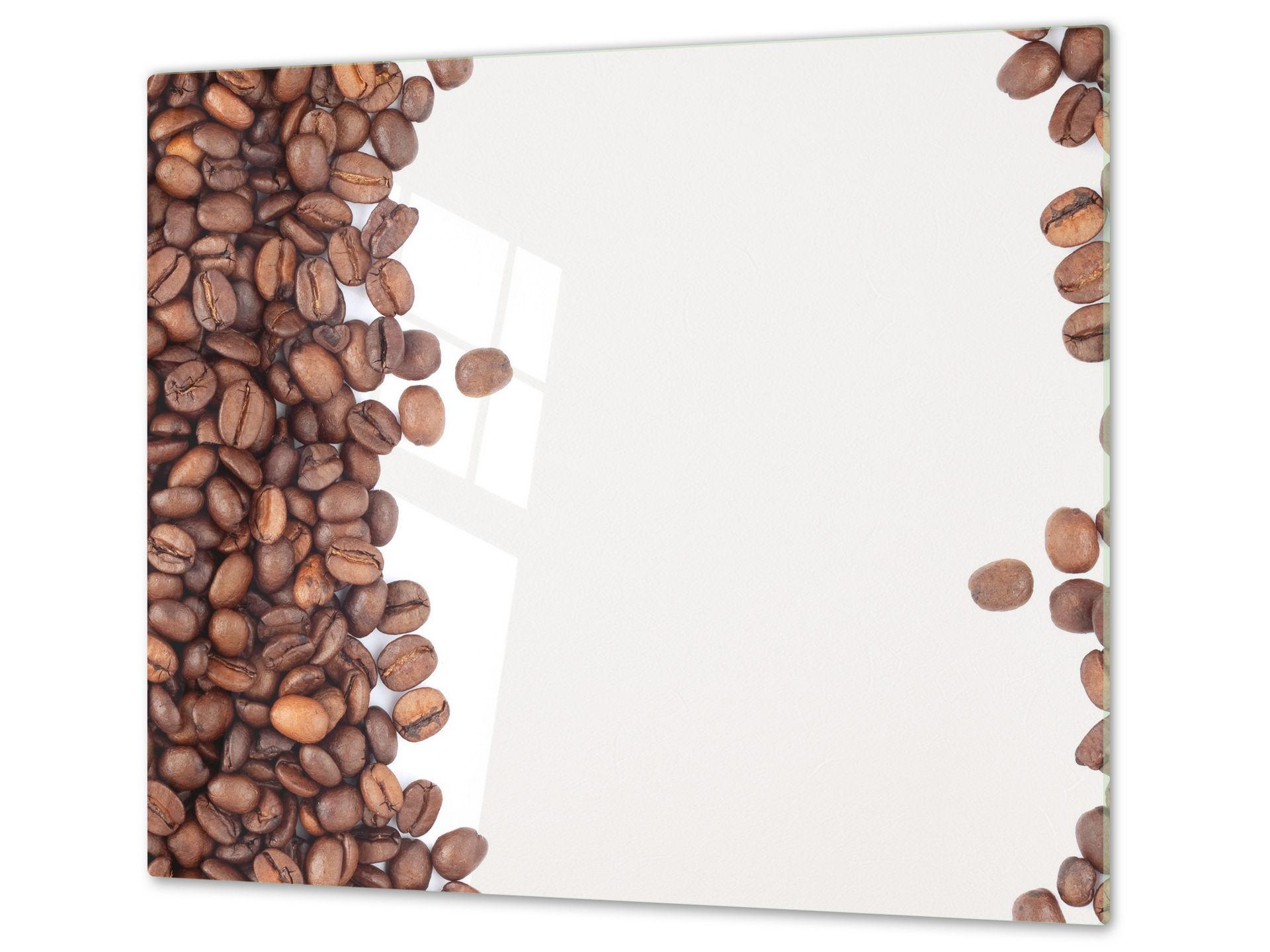 Asse da cucina in VETRO temperato temperato temperato – Tagliere in vetro D05 caffè 51 22fc46