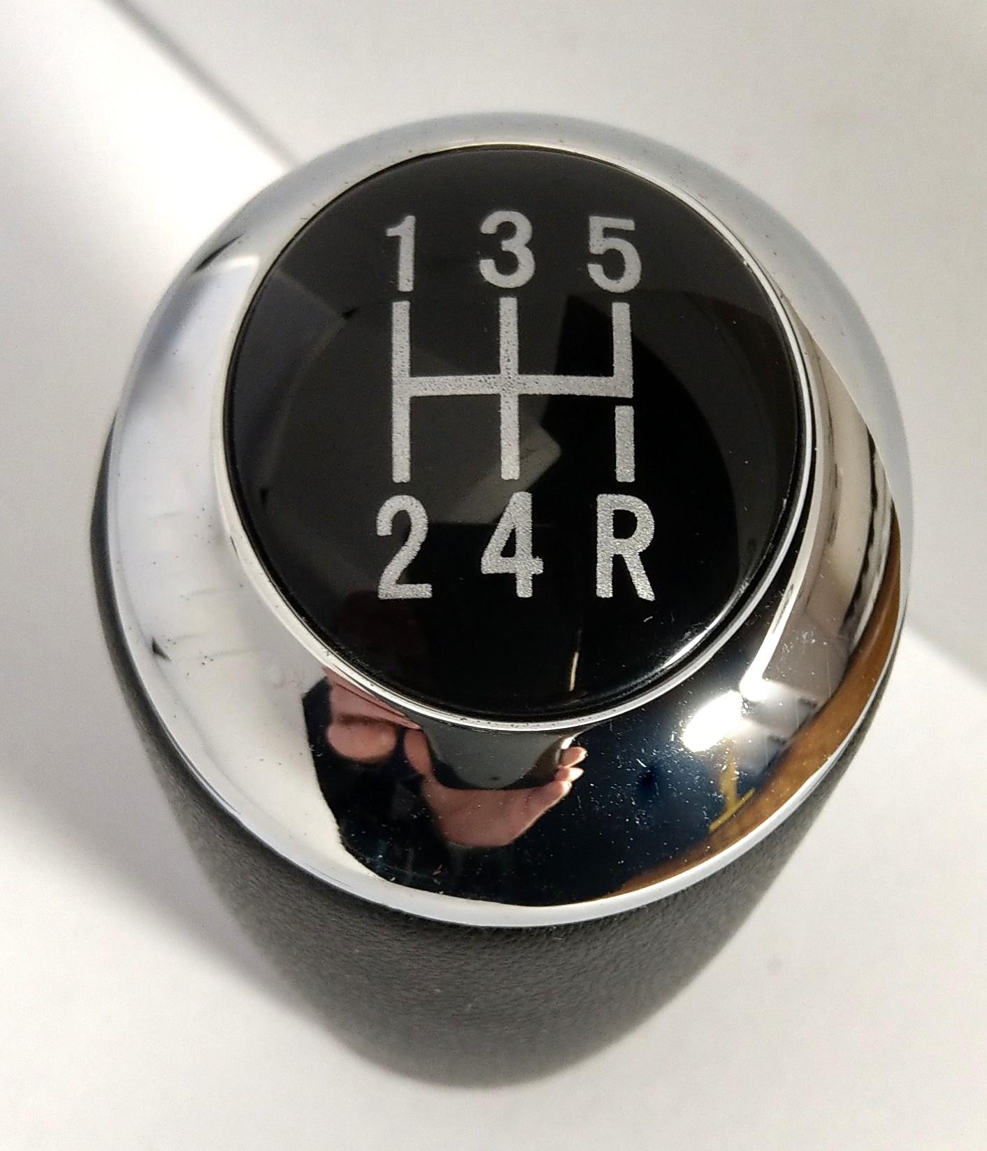 Schaltknauf Schalthebel 6 Gang passend für Mazda 3 CX-7 6 II MX-5III K66 5
