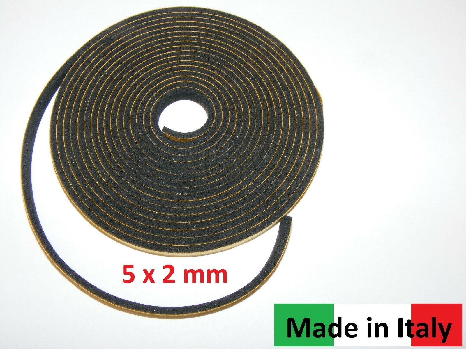 mm 3,4 M Accordion Bellows Gasket self-adhesive// Akkordeon Balgdichtung 5 x 2