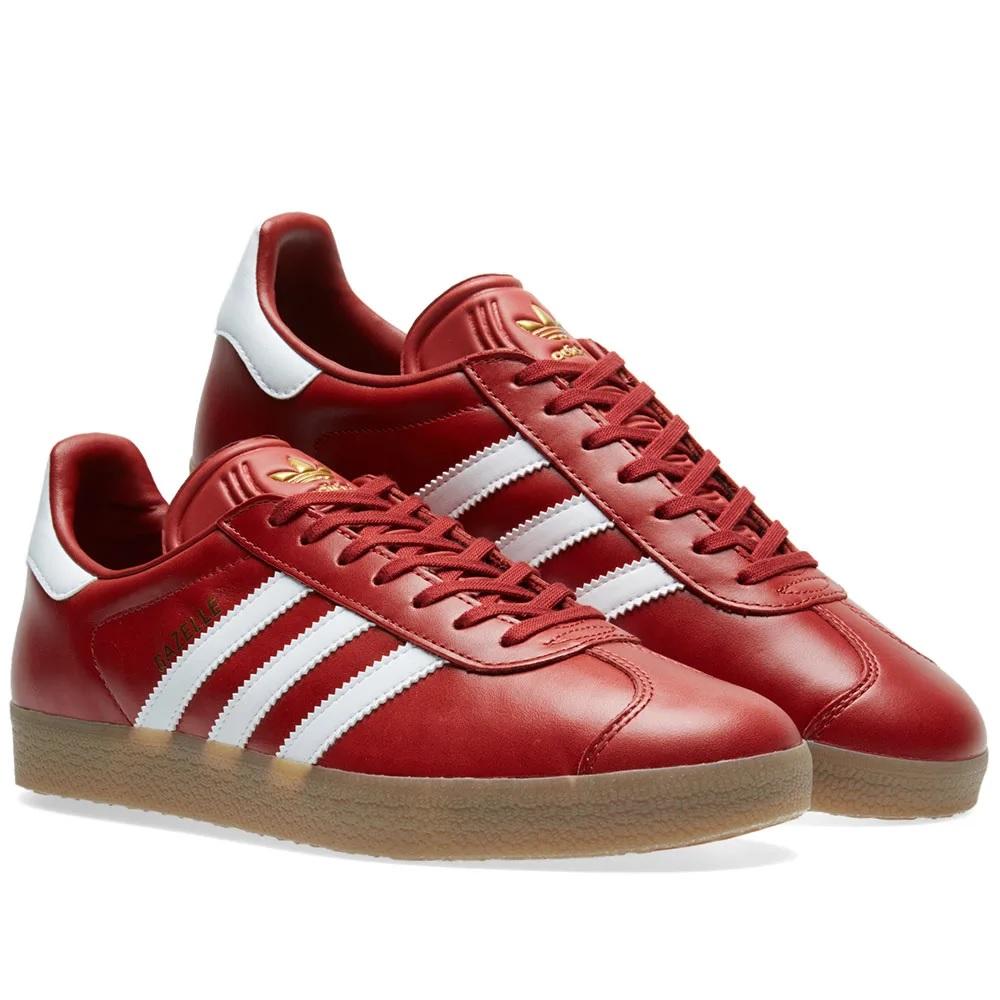 Details zu Adidas Gazelle BZ0025 Turnschuhe Damen Herren Sneaker Sportschuhe Freizeit rot
