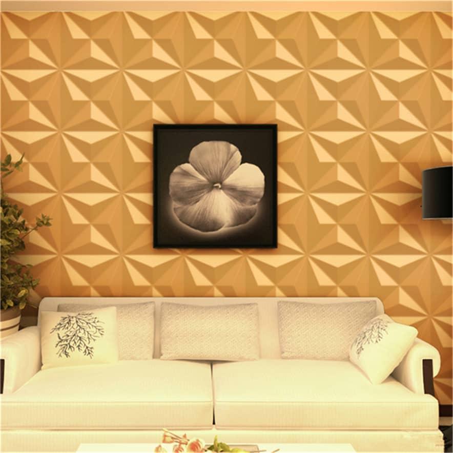 3D Wandpaneele Wand Tapete DIY Dekoration Wandaufkleber