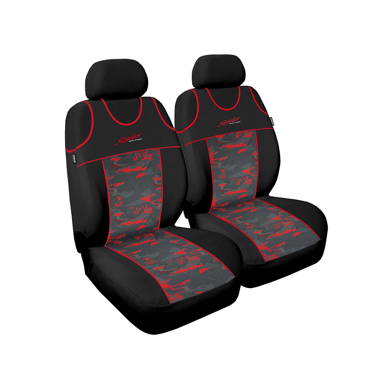 Sitzbezüge schwarz vorne KOS HYUNDAI I30