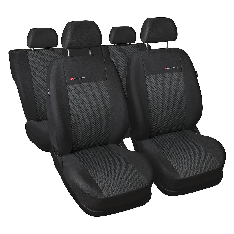 Graue Sitzbezüge für AUDI A4 Autositzbezug VORNE