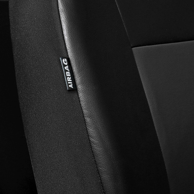 Renault Twingo Universal Grau Sitzbezüge Sitzbezug Bezug Schonbezüge Stylus P2