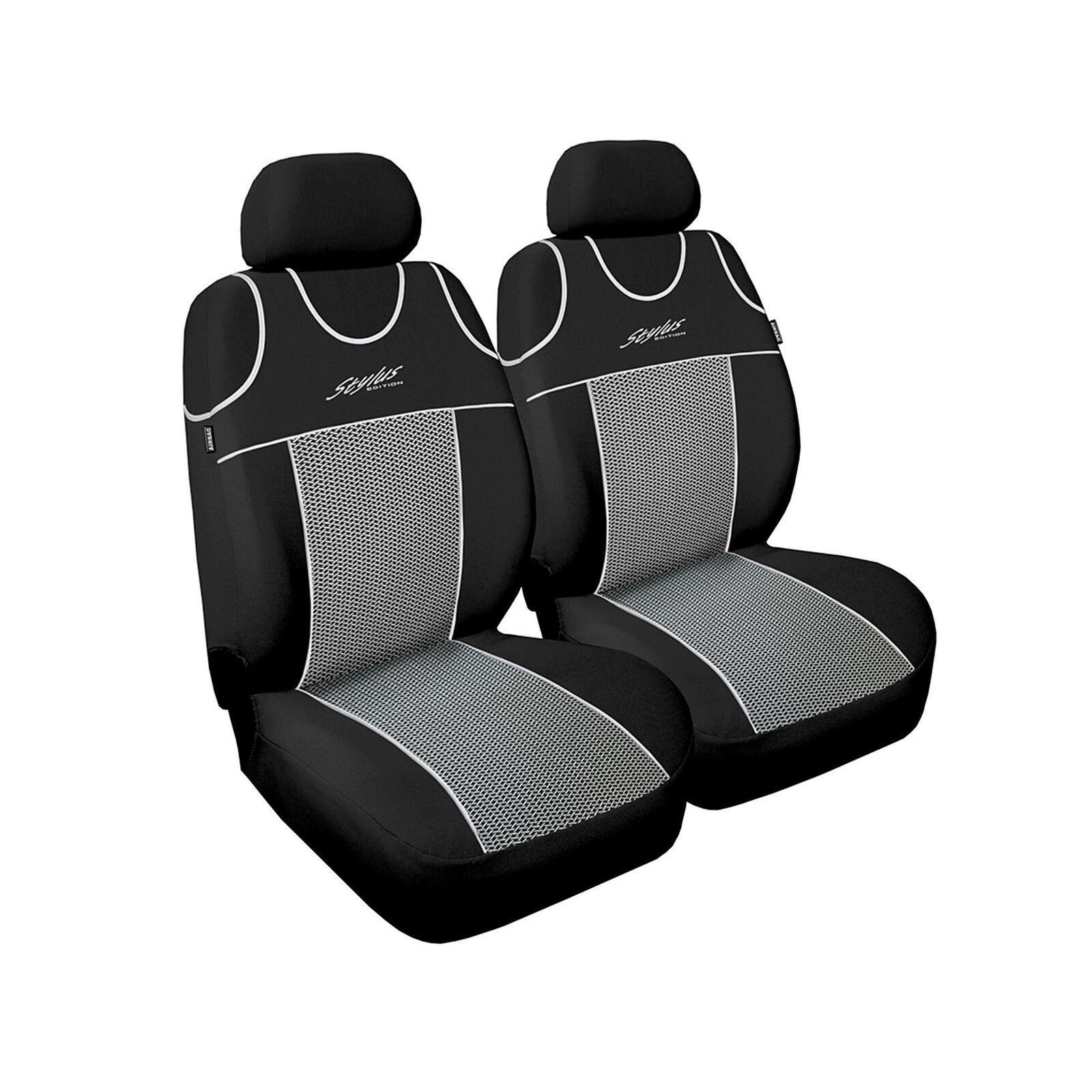 Sitzbezüge grau vorne ELE VW TIGUAN