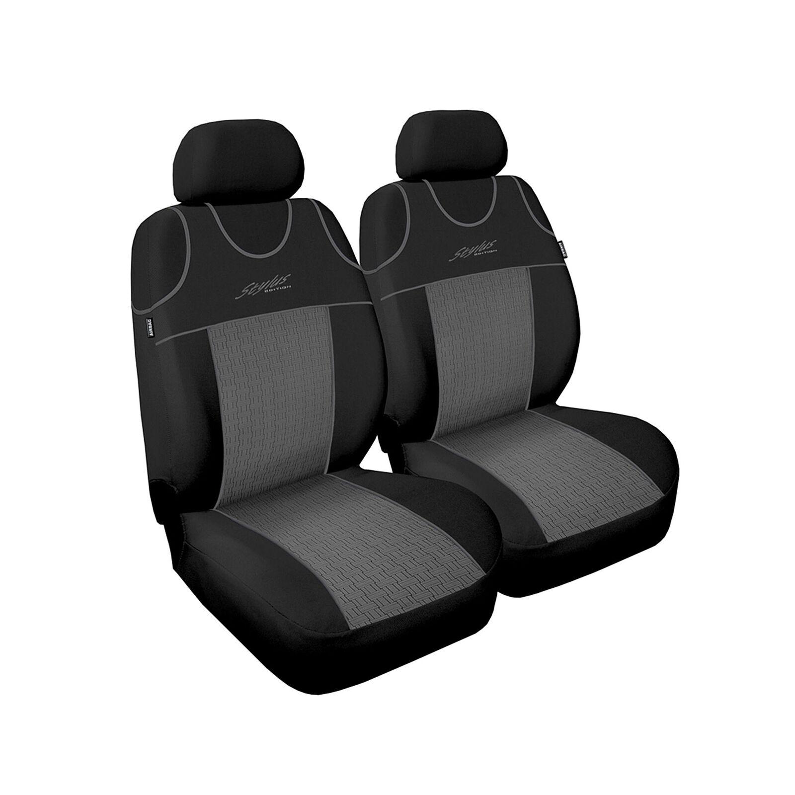 Universal Autositzbezüge für Suzuki Jimny Grau Sitzbezug Autositz Schonbezüge