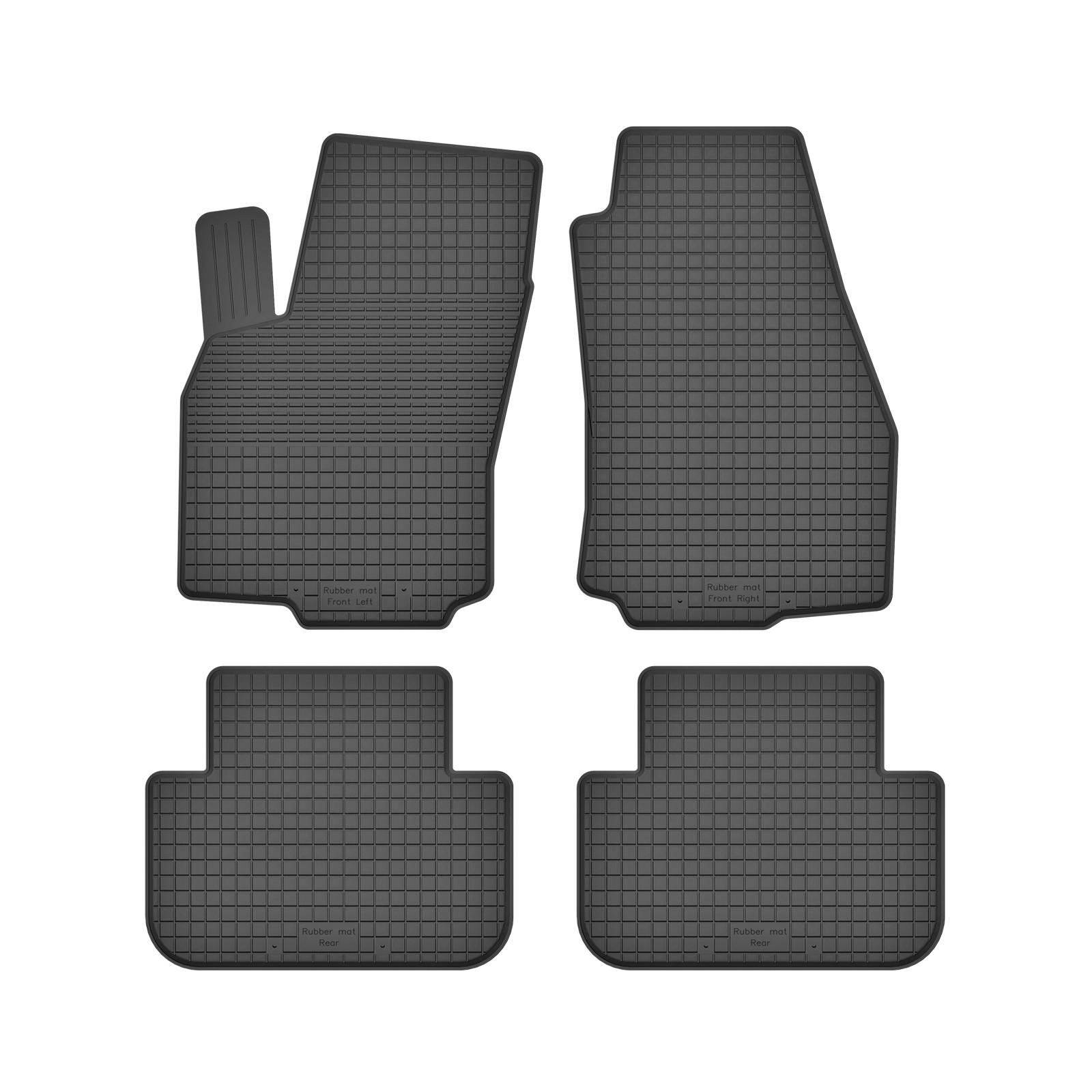 Design-3D-TPE-Gummifußmatten für Opel Zafira Business Innovation C Tourer Van 22