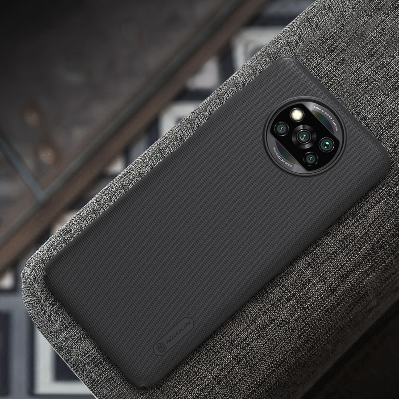 Etui Nillkin Frosted Shield dla Xiaomi Poco X3 NFC/ X3 PRO  - Zawartość zestawu: