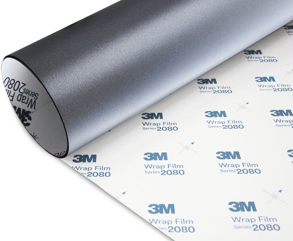 3M 1080 Noir Mat Film vynile thermoformable M12 152x110cm