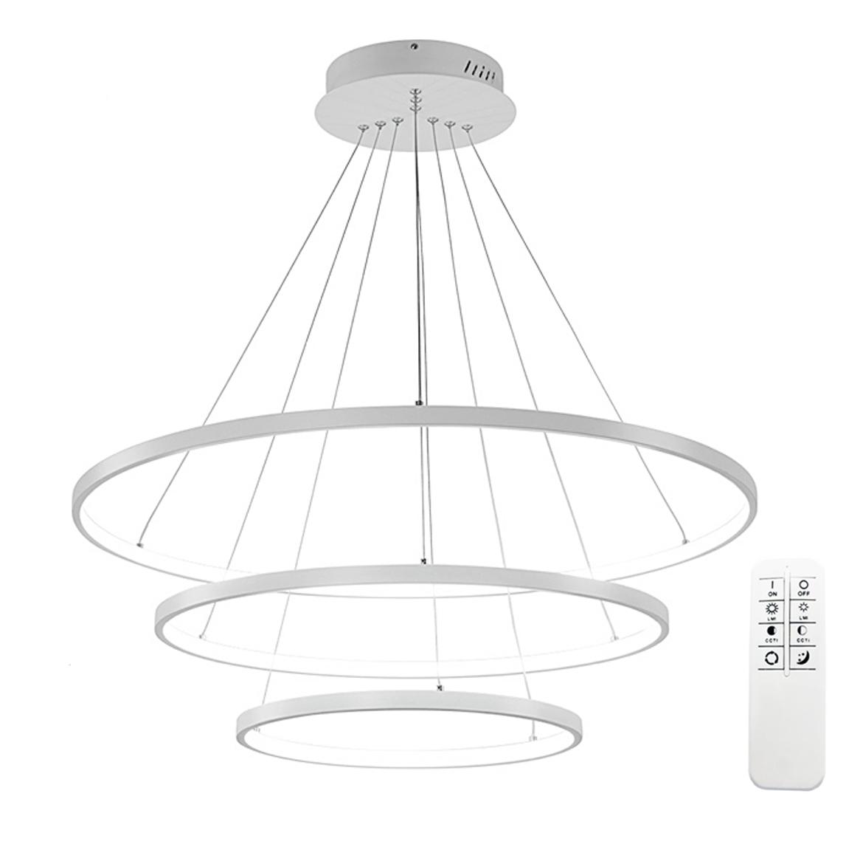 Piękne i smukłe ringi LED w nowoczesnym wydaniu czyli lampa Silva V 60 / 80 / 100cm Wobako