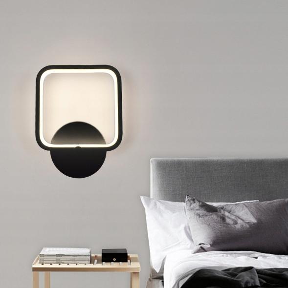 Minimalistyczny kinkiet LED Wobako Fabio 20W prostokąt
