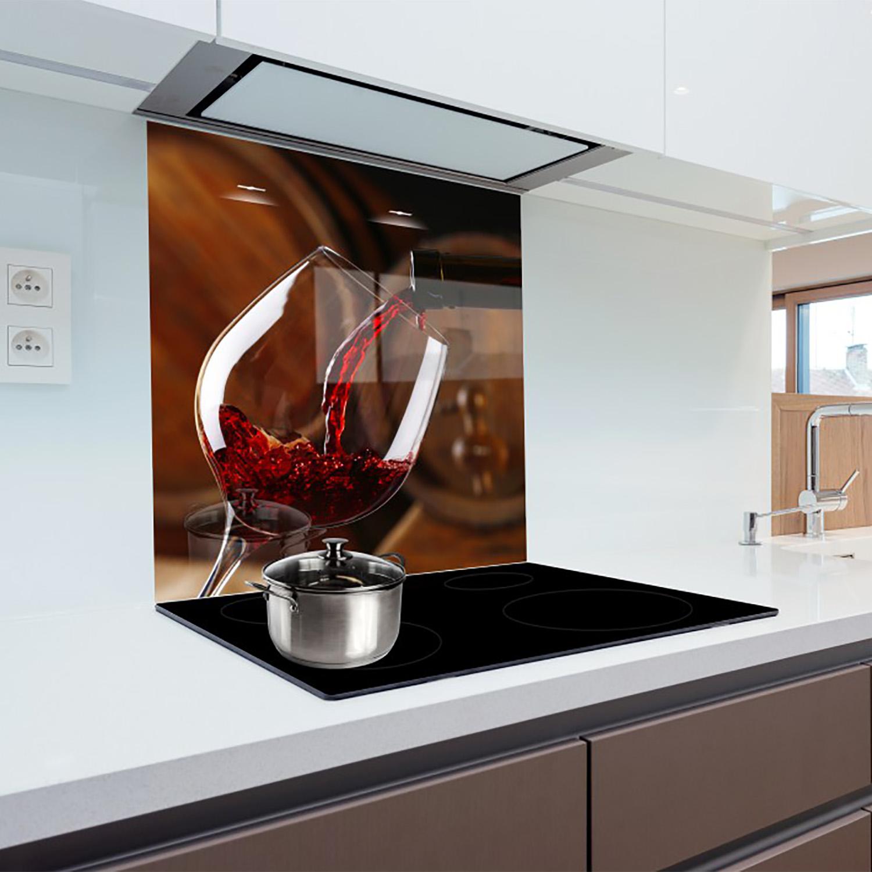 Glass Splashback Kitchen Printed Panels Heat Resistant
