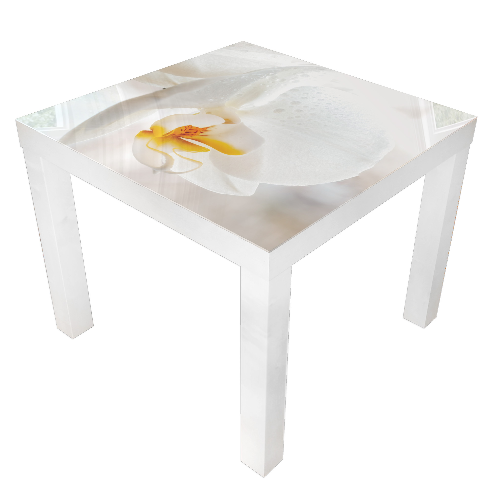 Details About Coffee Tables Home Decoration Safe Tempered Glass With Graphics 55x55cm