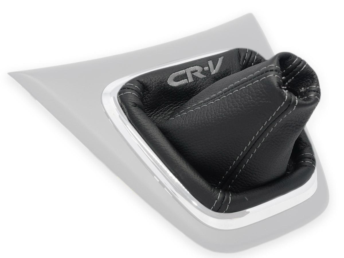 Soufflet de levier vitesse noir1 pour HONDA CR-V CRV 3 2006-2012