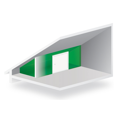 Fenster, Türen & Treppen & -Zubehör Kniestocktür Drempeltür Holz EXTRA TERMO Ud=0,85 W/m2*K Oman 90x60 60x90