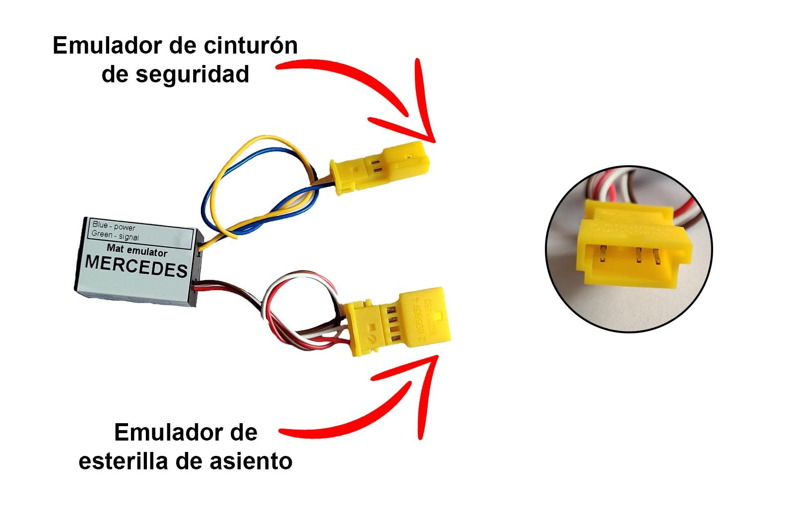 Esterilla simulador mercedes w 211 envío gratuito!